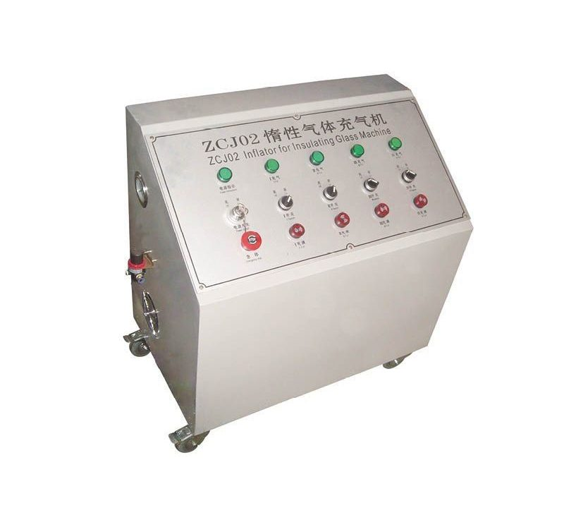 Auxiliary equipment for insulating glass processing, argon gas filling machine.