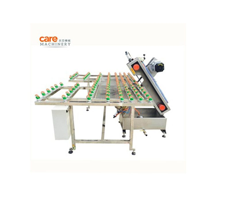 Belt glass edge grinding machine