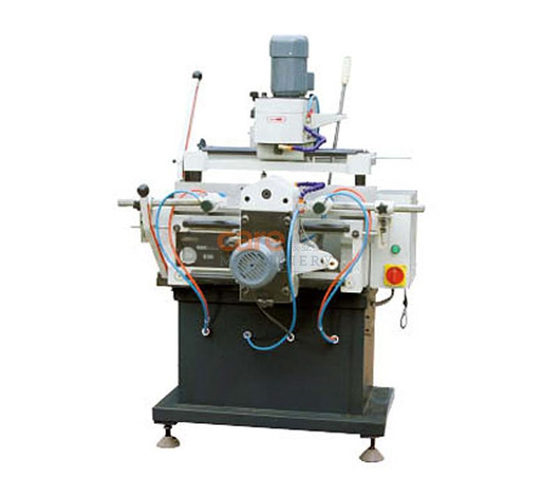 Aluminum profile copy-routing milling machine