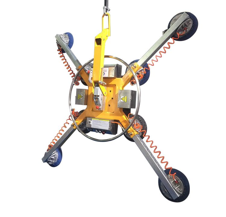 Adjustable Manual Vacuum Glass Lifter Machine