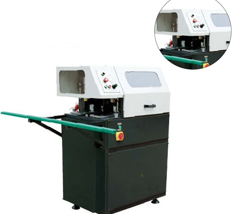 CNC corner connector automatic cutting saw