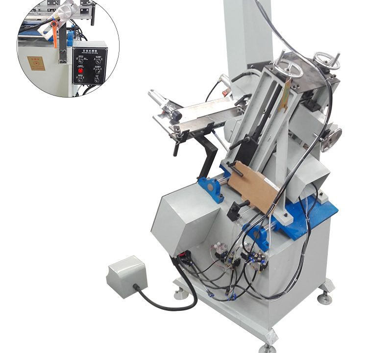 Two head auto water-slot milling machine