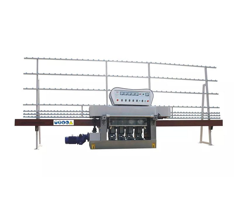 Glass straight line pencil edging machine