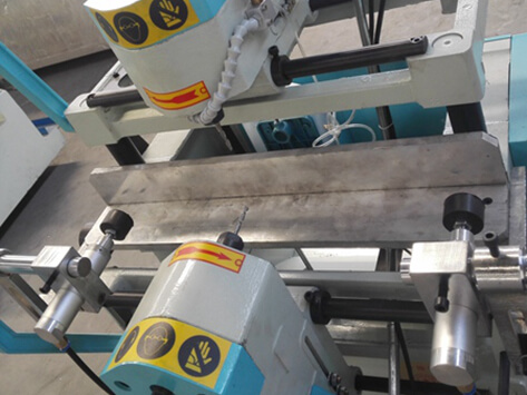 Double head profiling milling