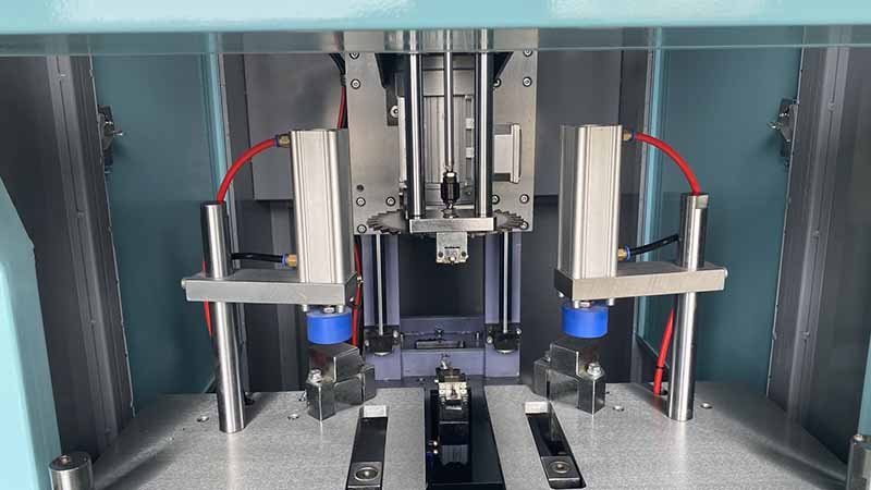 Third-generation intelligent CNC angle cleaner