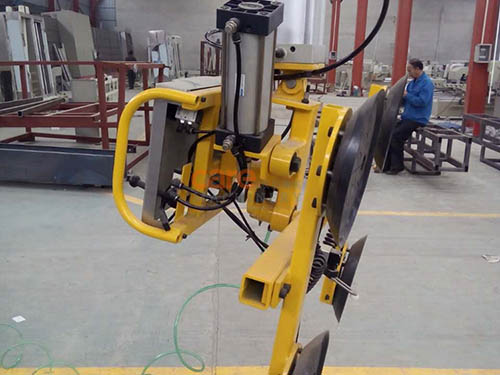 Pneumatic glass lifter